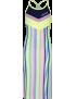 4President - Jurk - Madelaine - Multicolor Stripes