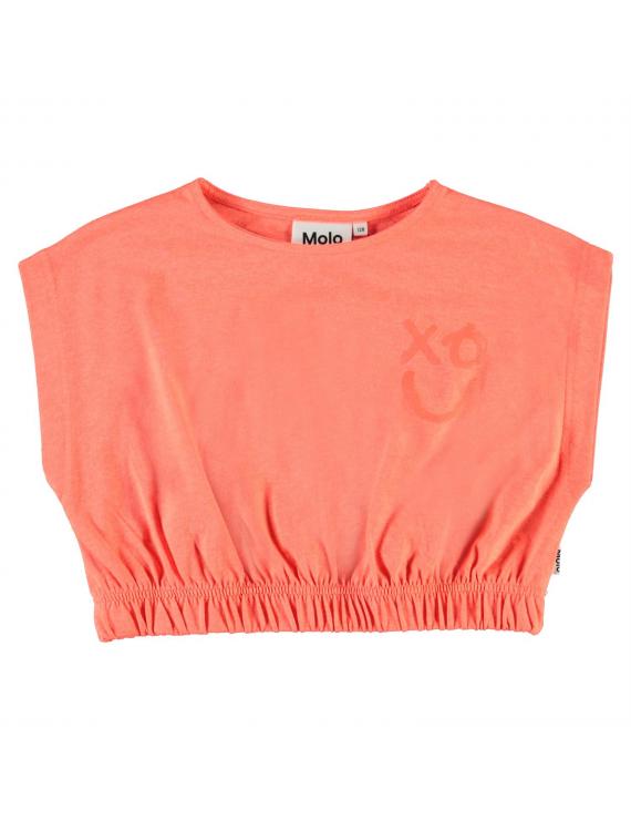 Molo - Top - Ragni - Neon Coral