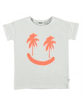 Molo - T-Shirt - Ribila - Neon Palmtree
