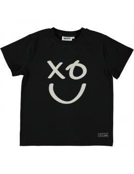 Molo - T-shirt - Roxo - Black