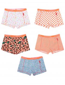 Claesen's - Girls 5-Pack Boxershorts - Orange