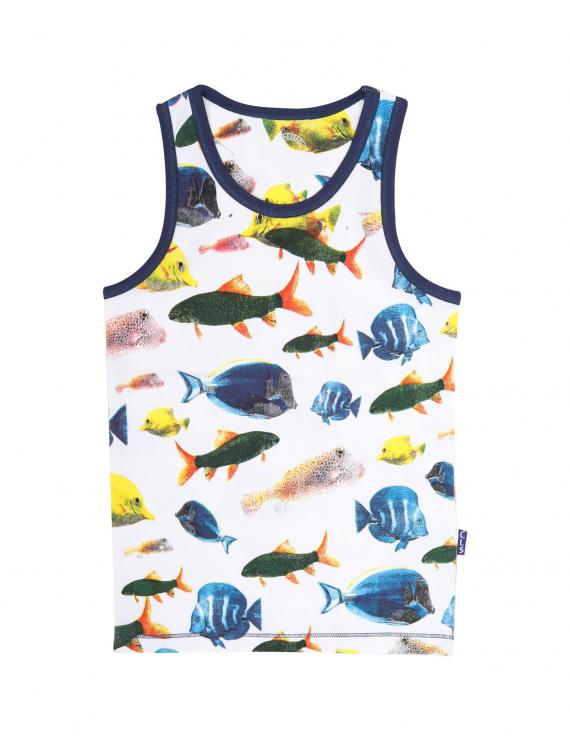 Claesen's - Boys 2-Pack Singlet - Fish