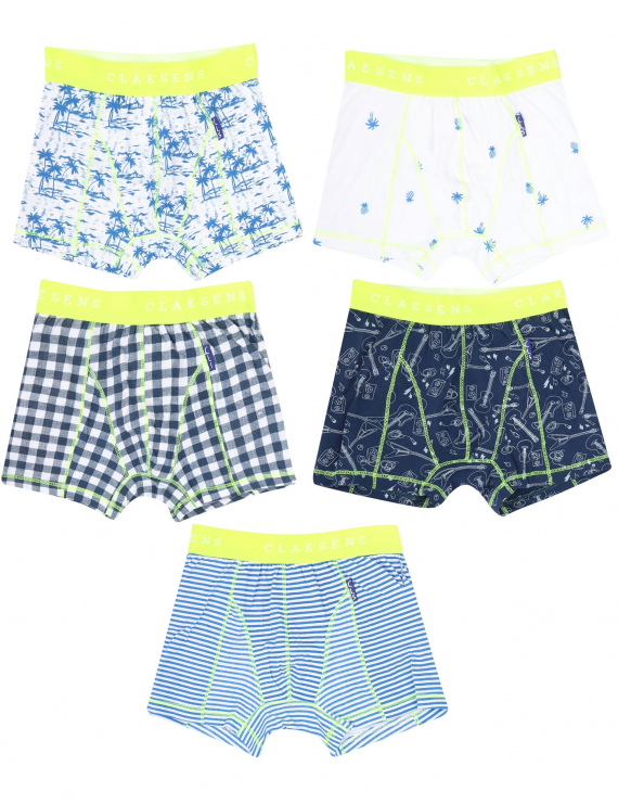 Claesen's - Boys 5-Pack Boxershorts - Hawaii