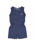 Gymp - Jumpsuit - Navy White