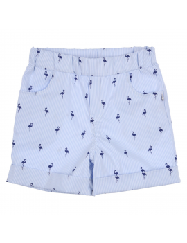 Gymp - Short - Flamingo - Lightblue / Navy