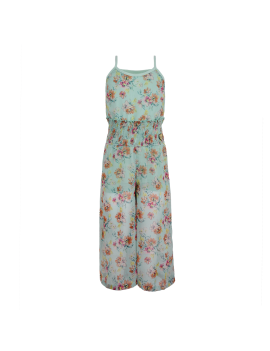LoFff - Jurk - Jumpsuit - Mint Flower