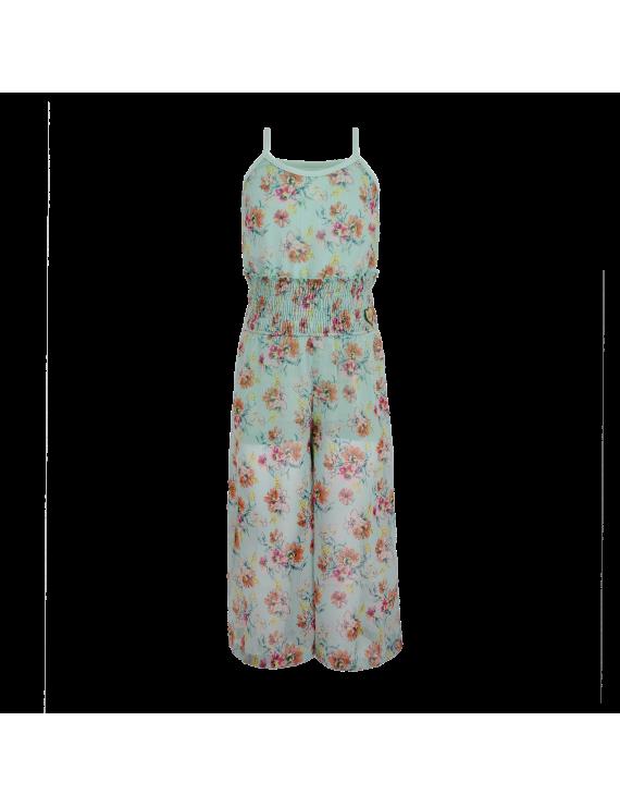 LoFff - Jurk - Jumpsuit - Mint Flower