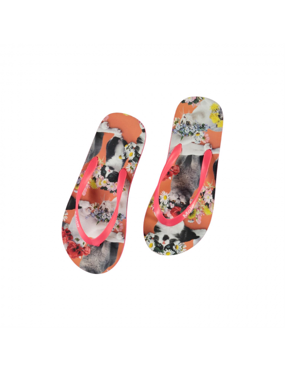 Molo - Slippers - Zeppo - Flower Power Cats