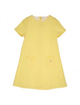 Gymp - Kleid - Yellow