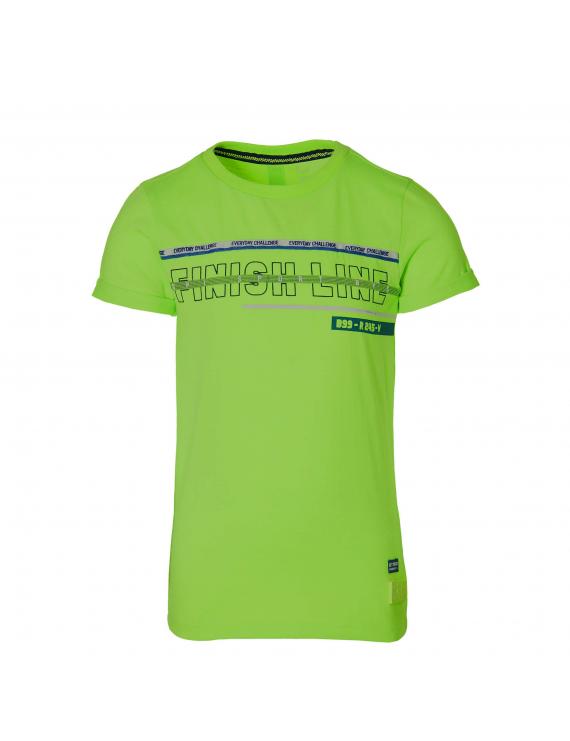 Quapi - T-Shirt - Felipe - Neon Green