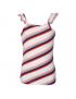 Quapi - Top - Feden - White Multi Stripe