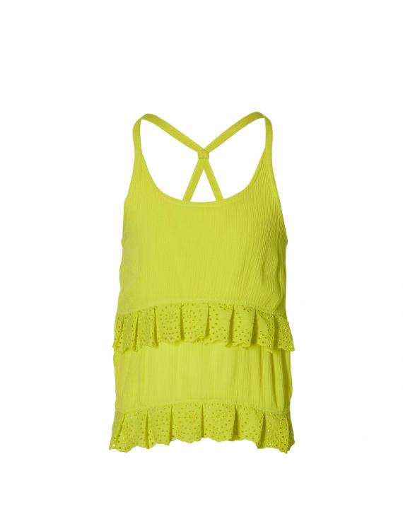 Quapi - Top - Felina - Lemon Yellow