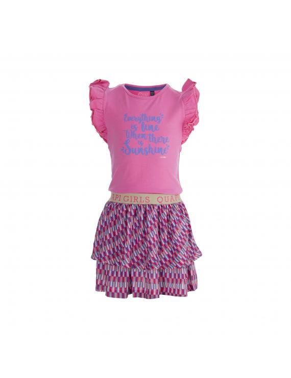 Quapi - Jurk - Faith - Pink Sweet