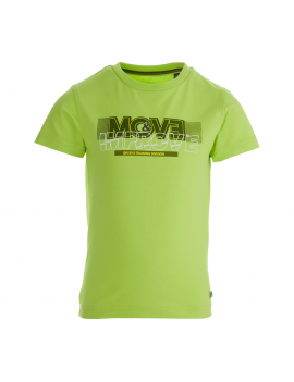 Quapi - T-Shirt - Fayez - Lime Fresh