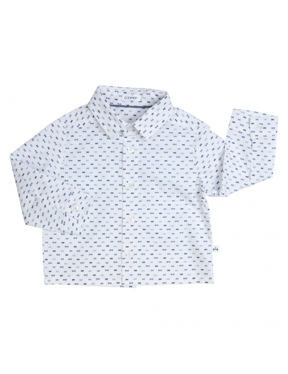 Gymp - Chemise - Bow Ties - White/Blue
