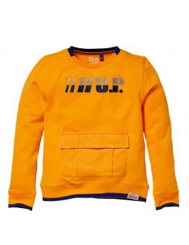 Quapi - Sweater - Kiam - Orange Yellow