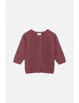Hust & Claire - Cardigan - Cammie - Red Rouge
