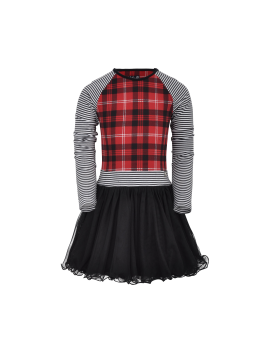 LoFff - Jurk - Dancing Dress Zoë - Black