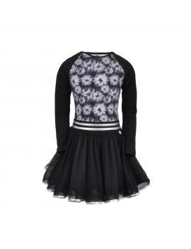 LoFff - Jurk - Dancing Dress Blaire - Black