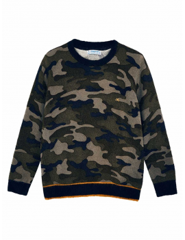 Mayoral - Pullover - Camouflage - Marino