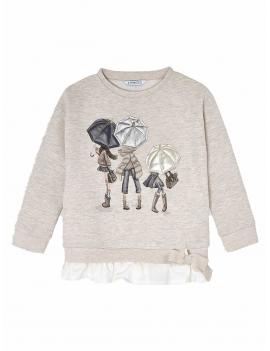 Mayoral - Sweater - Umbrellas - Piedra