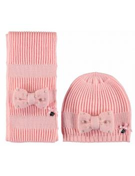 Le Chic - Muts en Sjaal - Pink Crystal