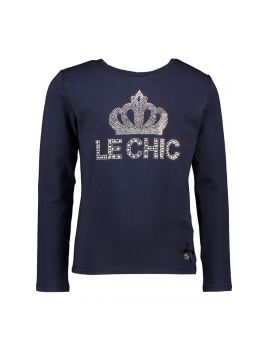 Le Chic - Longsleeve - Crown - Navy Blue