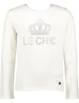 Le Chic - Longsleeve - Crown - Off White
