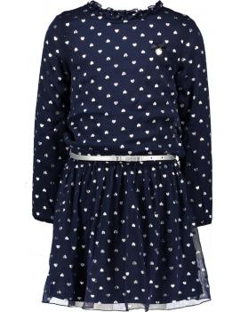 Le Chic - Dress - Hearts - Navy